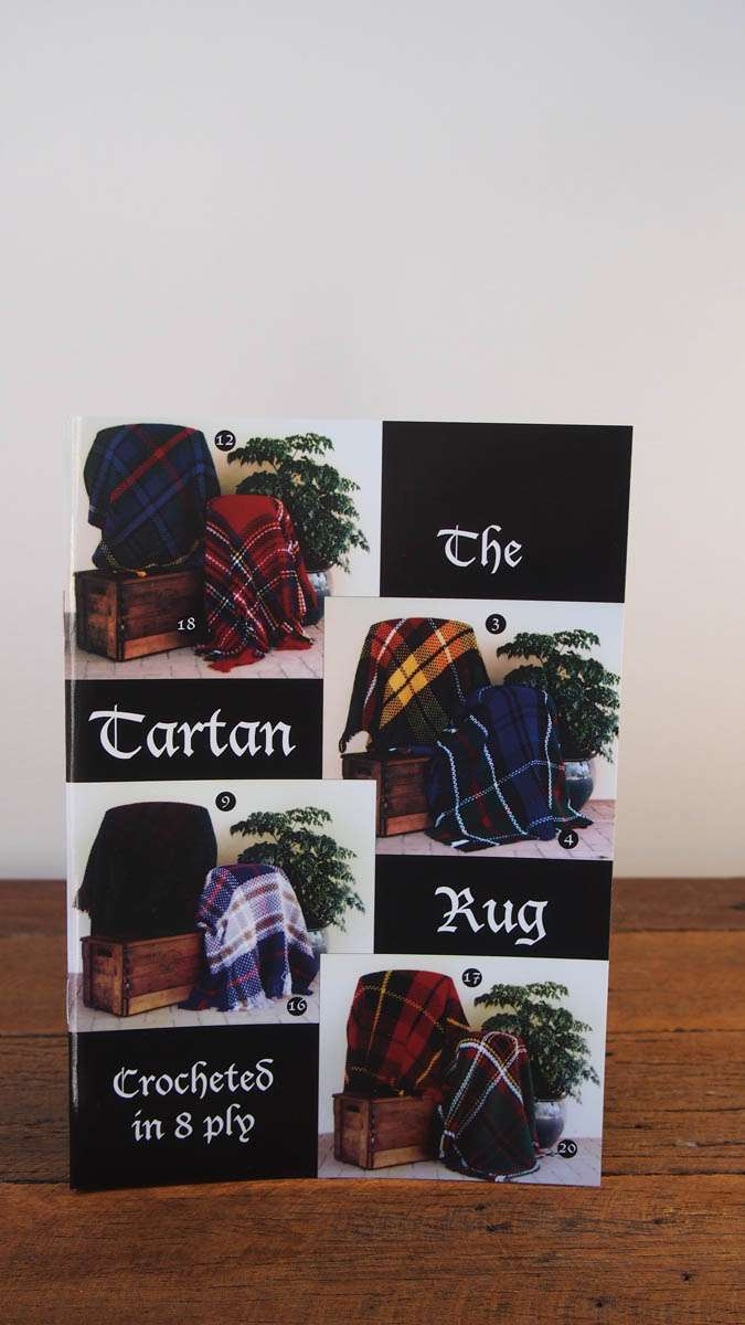 Tartan Rug Book – Jenny King Designs