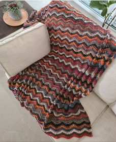 noro feather and fan blanket (5)