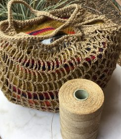 string theory bag in linen (2)